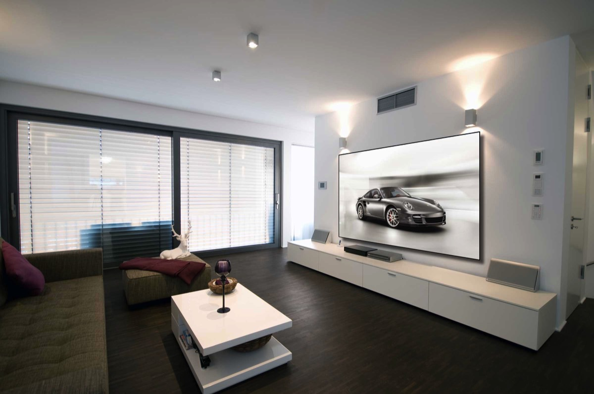 Funky Home Theater Decorating Ideas Composition - Home Decorating ...